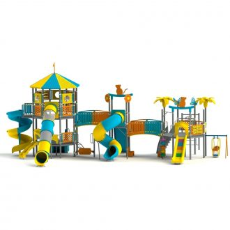 dx-atlantis-01 | Duplex Multi activity play systems | SignaturePLAY | Playground Equipment