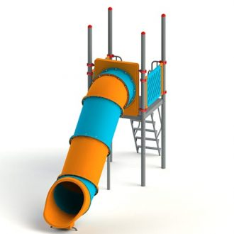 roto_straight_5ft | Slides | SignaturePLAY | Playground Equipment