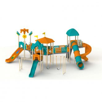 BOOMERANG 1 | Multi activity play systems | SignaturePLAY | Playground Equipment