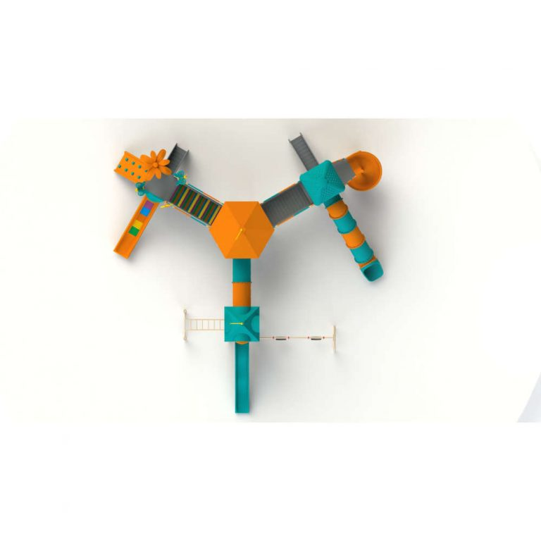 BOOMERANG TOP | Multi activity play systems | SignaturePLAY | Playground Equipment