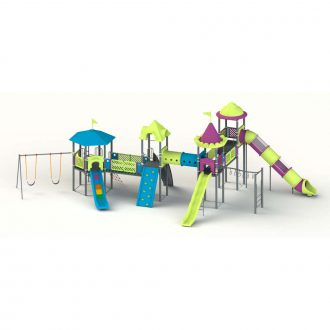 COROLLA 1 MAPS | Multi activity play systems | SignaturePLAY | Playground Equipment