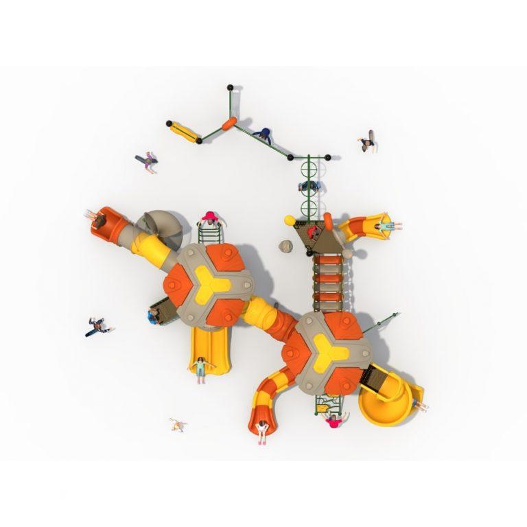 DX Asgard MAPS Top | Duplex Multi activity play systems | SignaturePLAY | Playground Equipment
