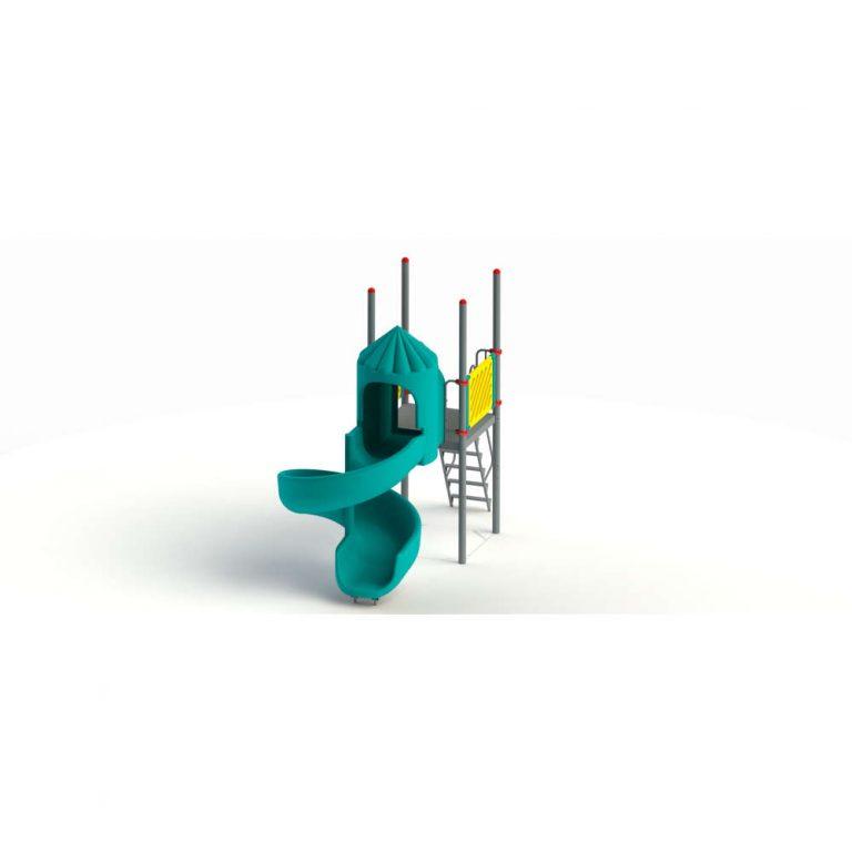 ROTO SPIRAL SLIDE 5FT HT | Slides | PLAYTime | Playground Equipment