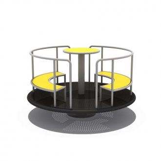 Sit Go Round | Merry Go Round | SignaturePLAY | Playground Equipment
