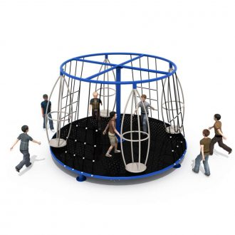 Twirliza MGR | Merry Go Round | SignaturePLAY | Playground Equipment