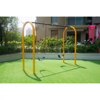 Actual DOUBLE ARC SWING | Playtime | Playground Equipment