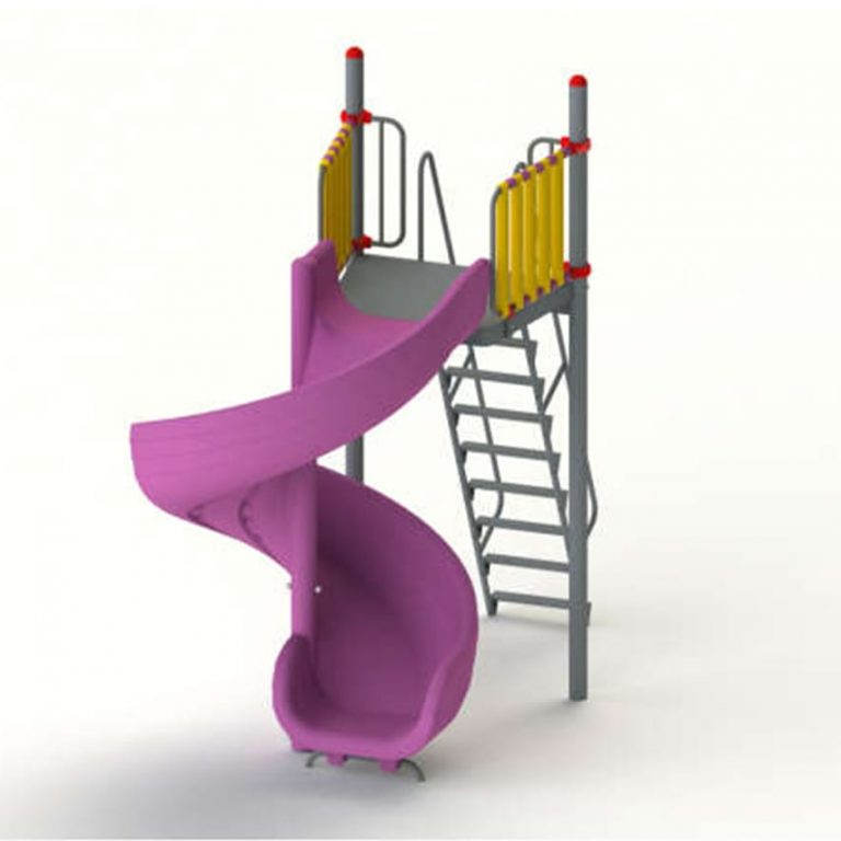 roto_spiral_slide_7ft | Slides | PLAYTime | Playground Equipment