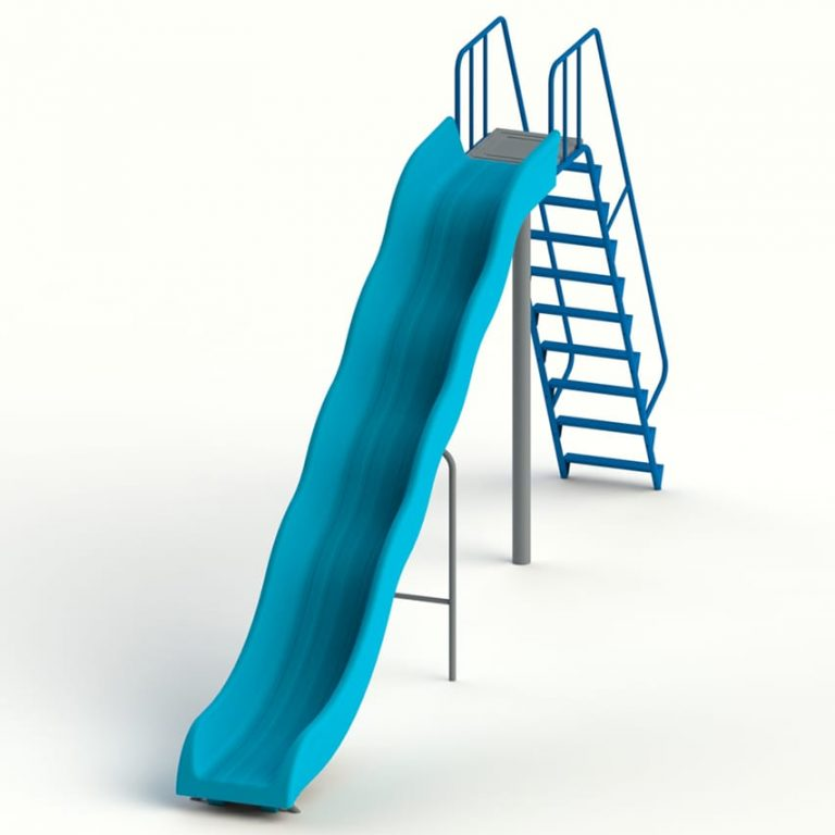 roto_waves_slide_7ft | Slides | PLAYTime | Playground Equipment