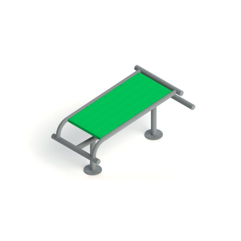 ABS BOARD SINGLE | Outdoor Fitness | Playtime | Playground Equipment