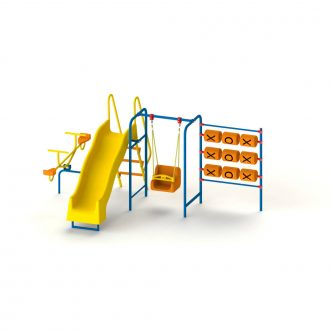 COMBINATION SET 4 IN 1 REV RN | Multi Activity Combination Sets | Playtime | Playground Equipment