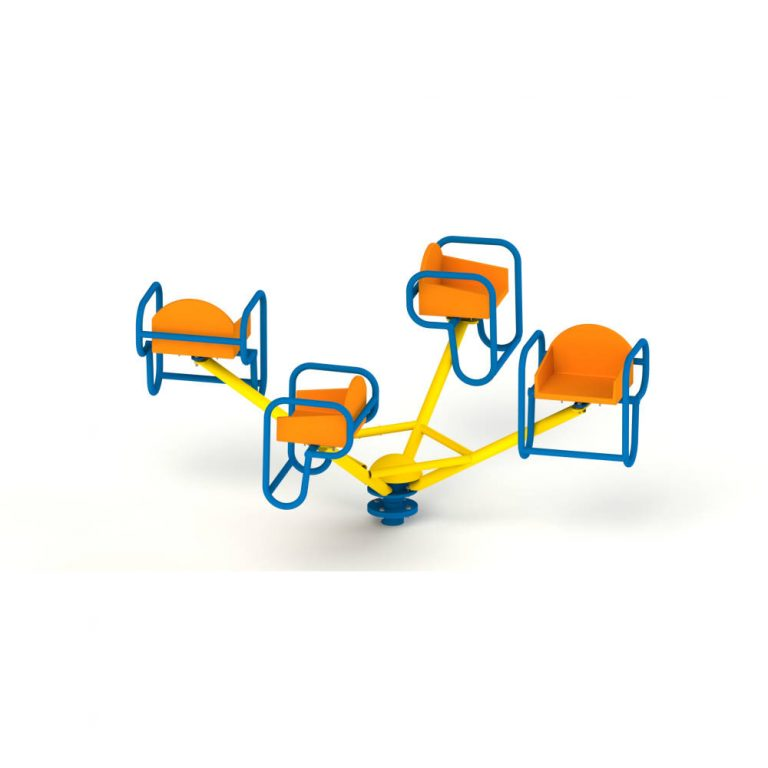 FOUR SEATER MGR | Merry Go Round | PLAYTime | Playground Equipment