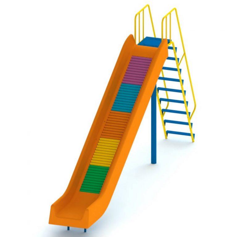 FRP ROLLER SLIDE 7FT | Slides | PLAYTime | Playground Equipment