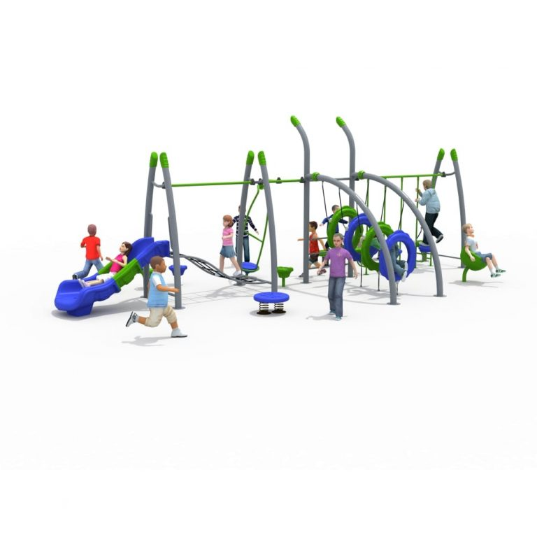 FitPlay MAPS 1 | Multi Activity Play Systems | SignaturePLAY | Playground Equipment
