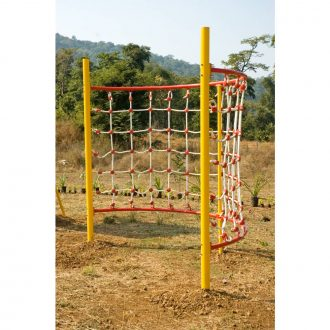 HALF ROUND NET SCRAMBLER | Climbers | PLAYTime | Playground Equipment