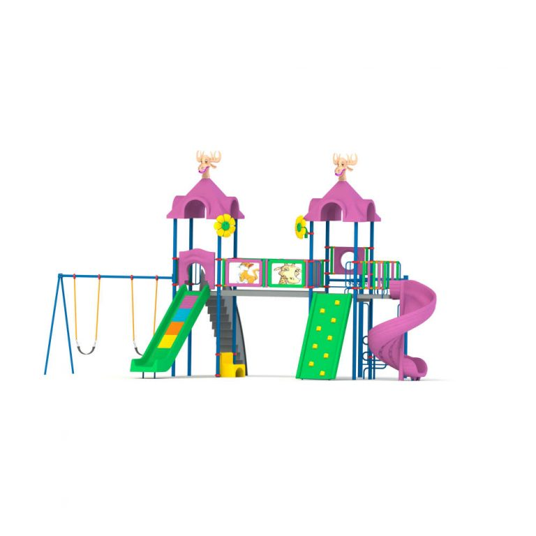 MAPS 59 A | Multi activity play systems | Playtime | Playground Equipment