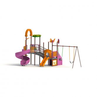 MAPS 63 A (2) | Multi activity play systems | Playtime | Playground Equipment