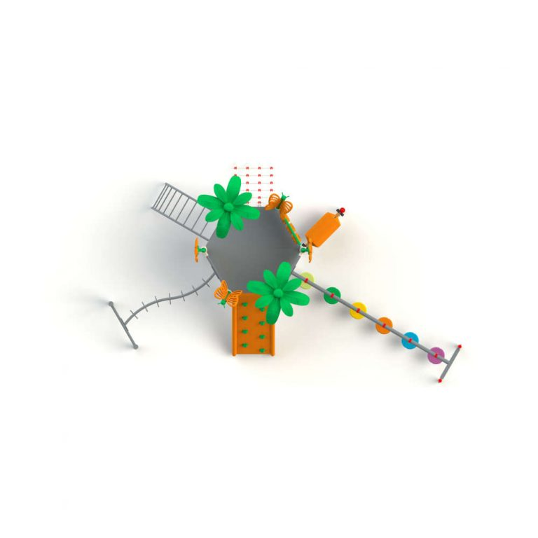 MAPS 66 TOP (2) | Multi activity play systems | Playtime | Playground Equipment