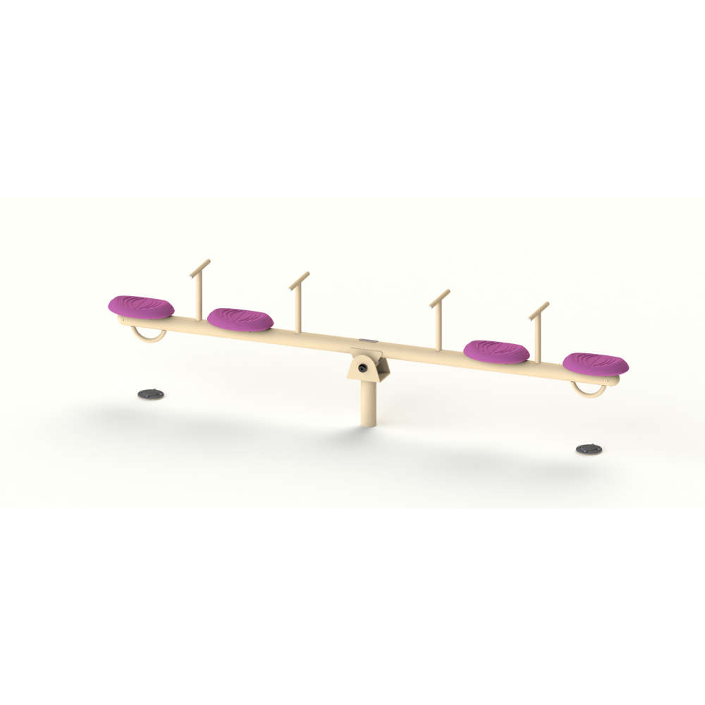 MULTI SEATER SEE SAW | See Saw | PLAYTime | Playground Equipment