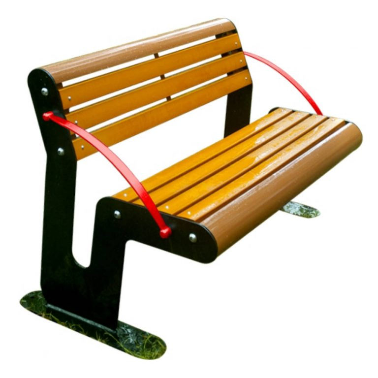 POISE BENCH | Garden Decor | SignaturePLAY | Playground Equipment