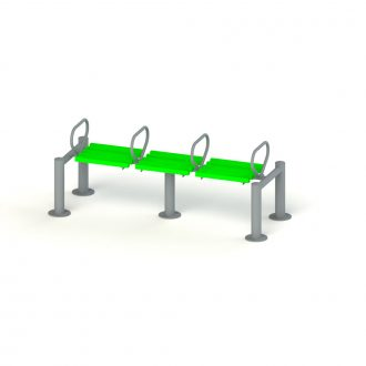 POMMEL HORSE | Outdoor Fitness | Playtime | Playground Equipment