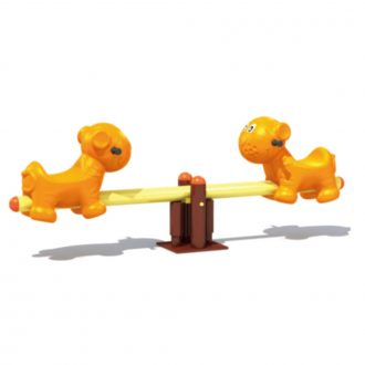 Puppy See saw | See Saw | SignaturePLAY | Playground Equipment
