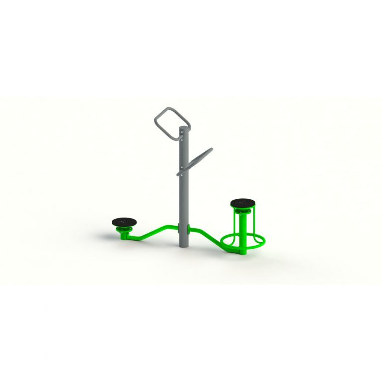 SEATED & STANDING TWISTER | Outdoor Fitness | Playtime | Playground Equipment