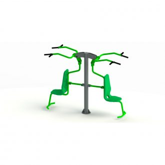 SHOULDER EXERCISER DOUBLE | Outdoor Fitness | Playtime | Playground Equipment