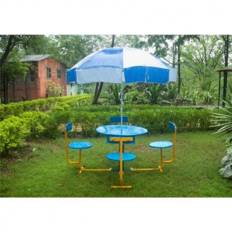 UMBRELLA TABLE | Garden Decor | PLAYTime | Playground Equipment
