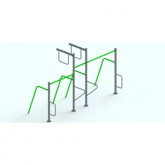 UNEVEN BAR | Outdoor Fitness | Playtime | Playground Equipment