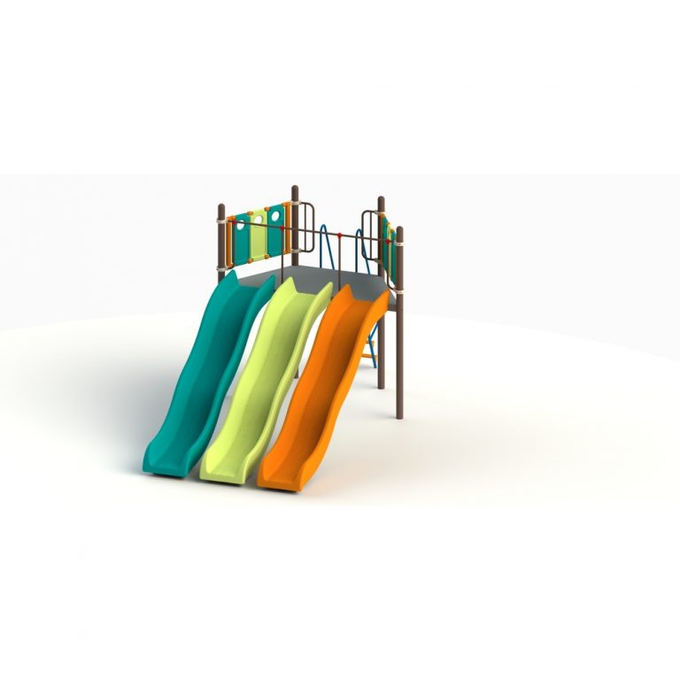 tripple-wave-slide-1-5-mtr- | Slides | PLAYTime | Playground Equipment