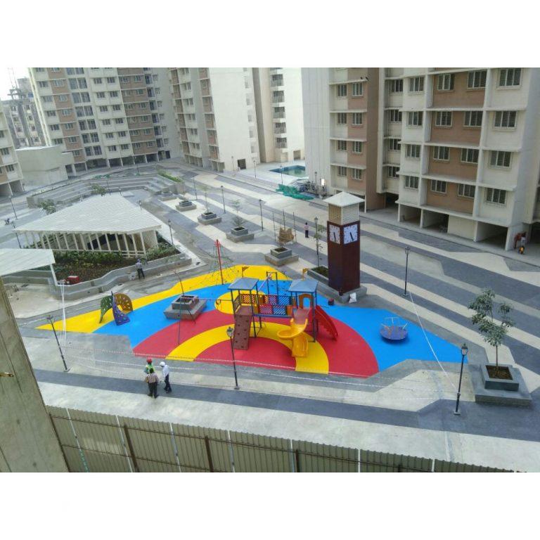 Rubber Flooring - Colour Arcs | Flooring Solution | SignaturePLAY | Playground Equipment