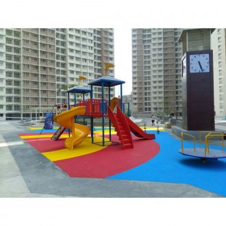 Rubber Flooring - Colour Arcs | Flooring Solution | SignaturePLAY | Playground Equipment
