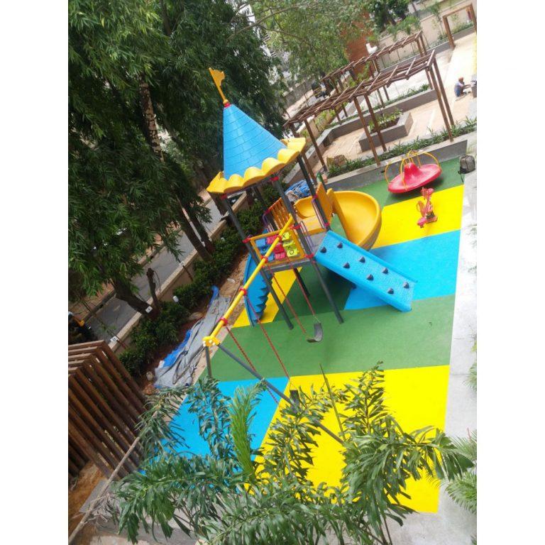 Rubber Flooring - Geometric | Flooring Solution | SignaturePLAY | Playground Equipment