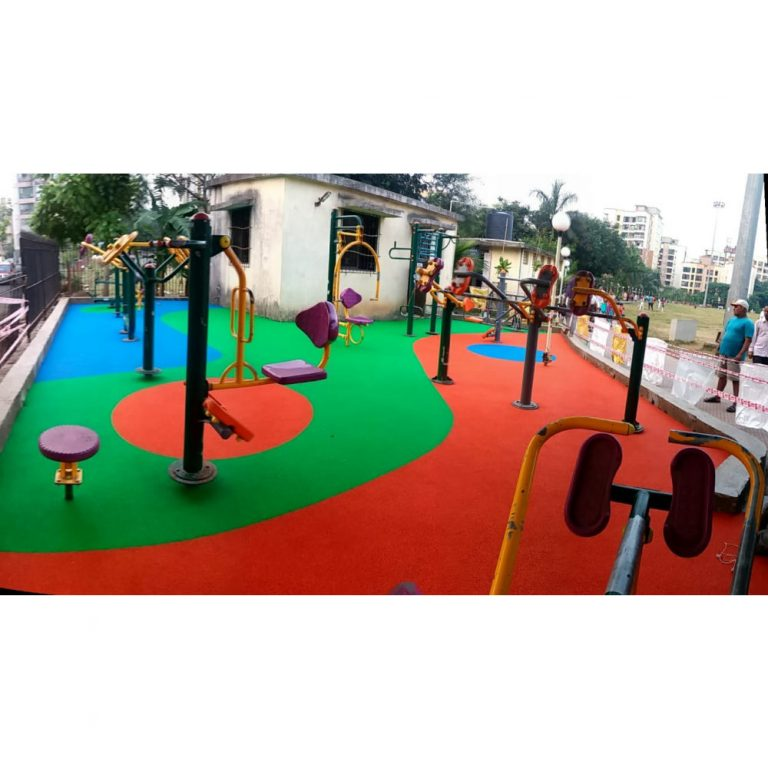 Rubber Flooring - Waves & Circles | Flooring Solution | SignaturePLAY | Playground Equipment