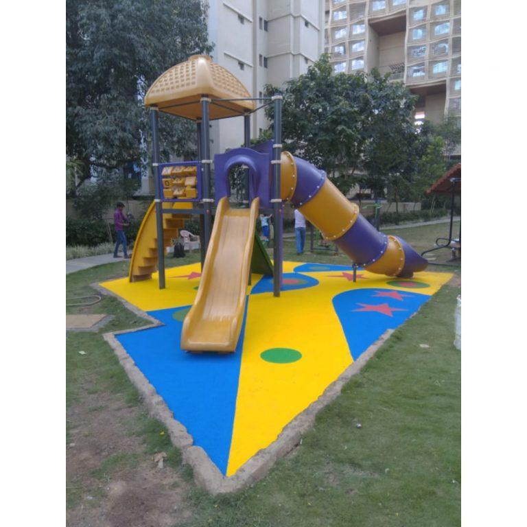 Rubber Flooring - Stars & Circles | Flooring Solution | SignaturePLAY | Playground Equipment