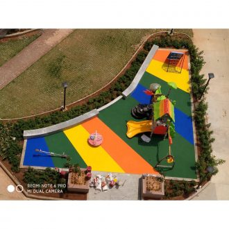 Rubber Flooring - Stripey | Flooring Solution | SignaturePLAY | Playground Equipment