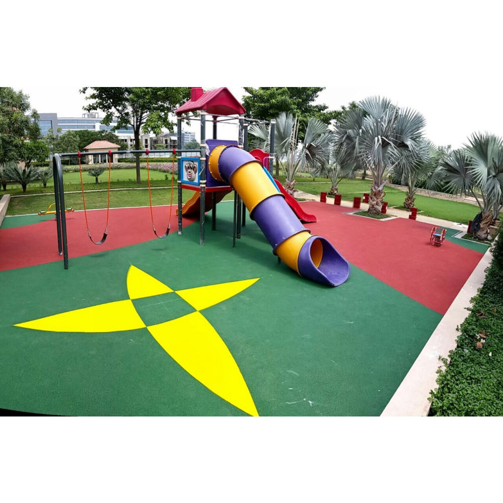 Rubber Flooring - Abstract | Flooring Solution | SignaturePLAY | Playground Equipment