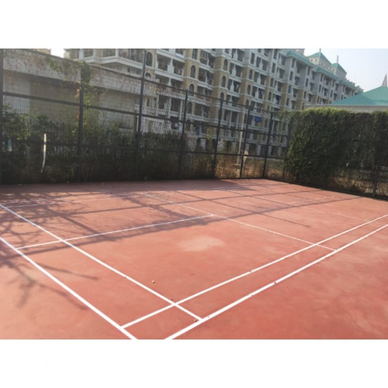 Outdoor Badminton - Sports Court | Flooring Solution | SignaturePLAY | Playground Equipment
