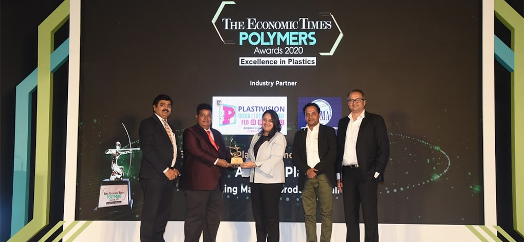 ArihantPLAY a winner at The Polymers Awards 2020 organized by The Economic Times