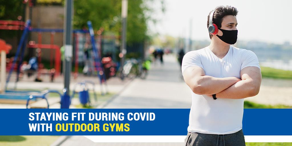 Staying Fit During COVID with Outdoor Gyms