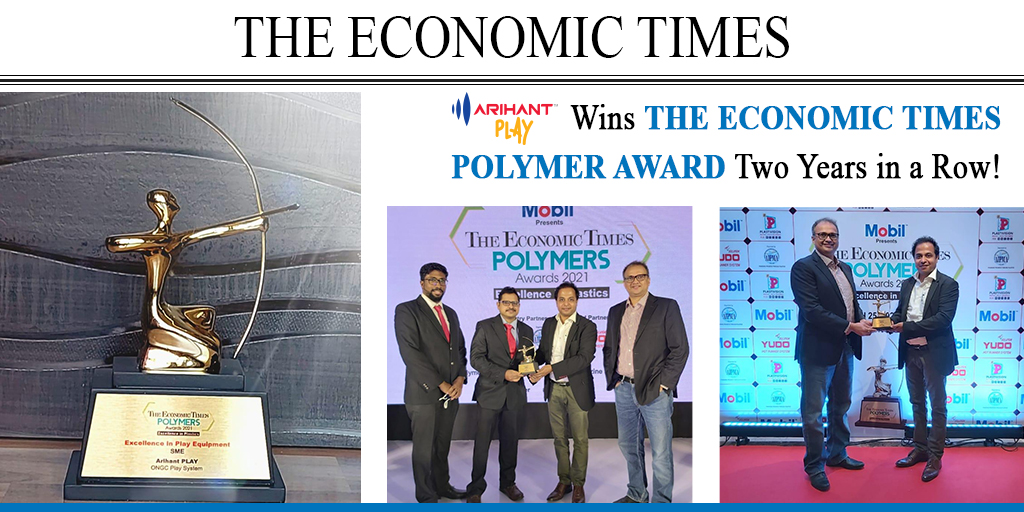 ArihantPLAY Wins the Economic Times Polymer Award Two Years in a Row!