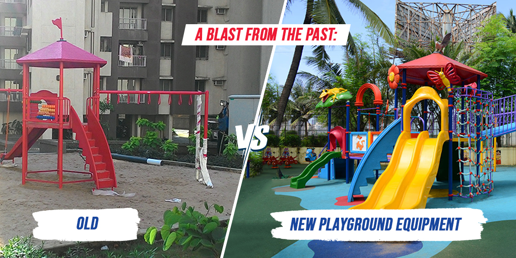 A Blast from the Past: Old vs New Playground Equipment