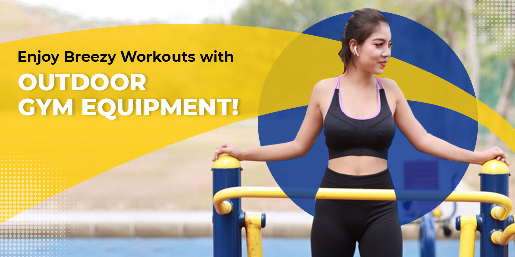 Enjoy Breezy Workouts with this Outdoor Gym Equipment!